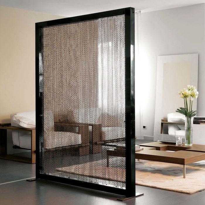 panneau-separe-piece-noir-laque-design-cloison-amovible-piece