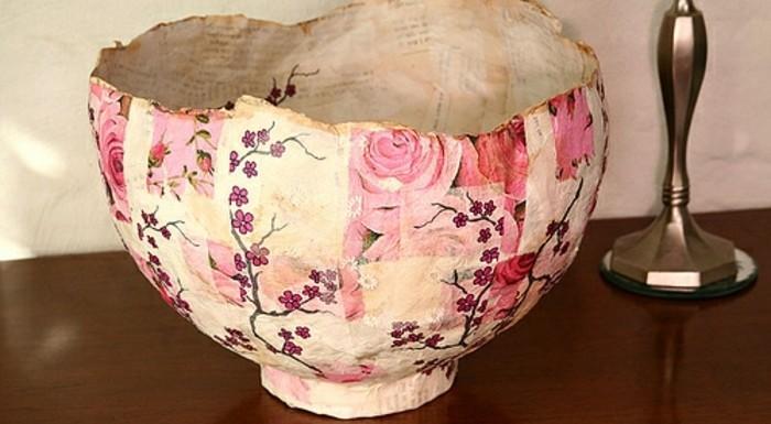 papier-maché-bol-deco-table-a-faire-soi-meme-motifs-floraux-cerisiers-roses-recette-papier-maché-resized
