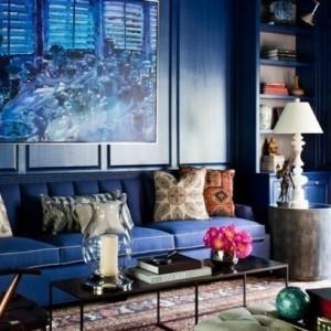 La couleur indigo pour sublimer son intérieur - 74 idées remarquables