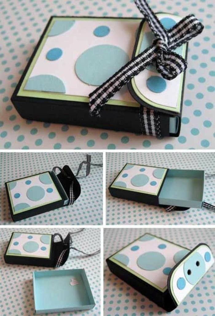 1001 id es comment faire une bo te en papier. Black Bedroom Furniture Sets. Home Design Ideas