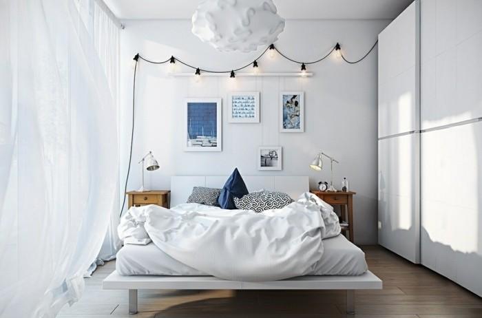 Idées Pour Une Chambre Scandinave Stylée - Canapé convertible scandinave pour noël des chambres a coucher
