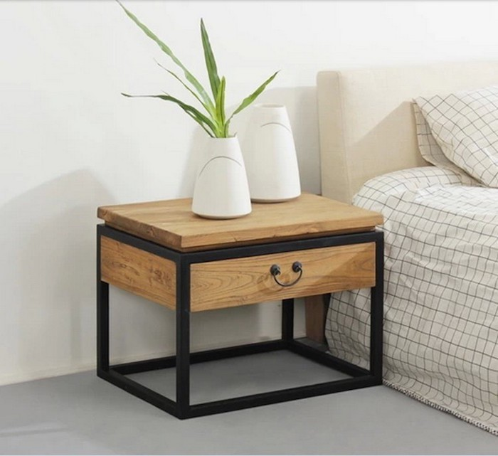 table de chevet suspendu avec tiroir maison design. Black Bedroom Furniture Sets. Home Design Ideas