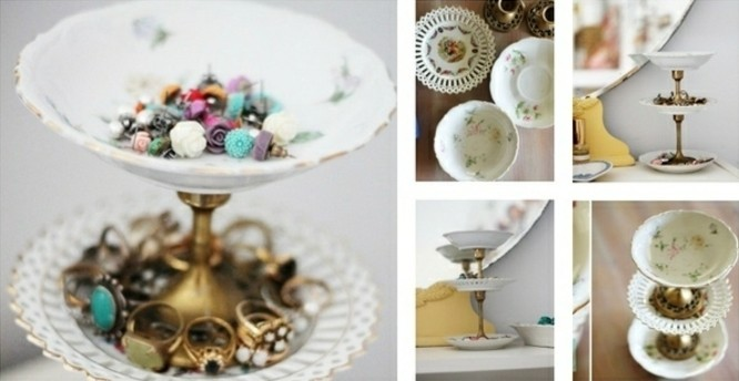 petites-coupes-a-motifs-floraux-assemblees-par-des-pieces-de-chandelier-vintage-idee-comment-fabriquer-un-porte-bijoux
