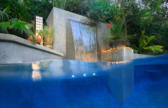 piscine-de-reve-lame-d'eau-avec-des-lumières-artificielles
