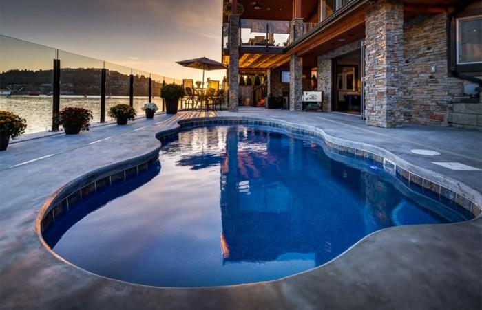 Installer une petite piscine coque le luxe est d j for Piscine leisure pools