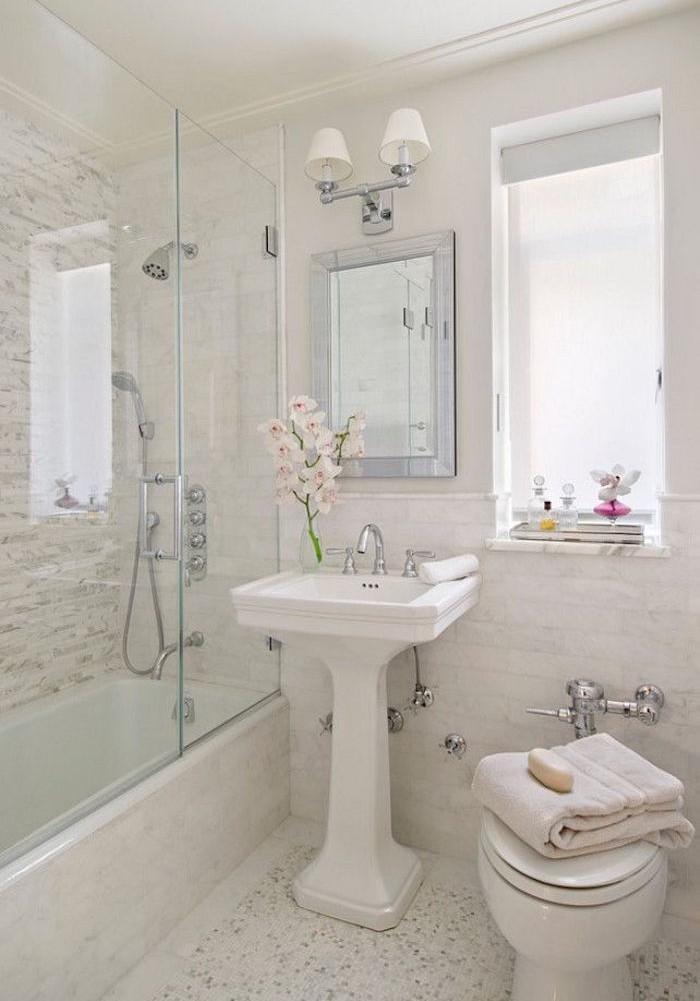 1001 id es pour l 39 am nagement d 39 une petite salle de bain for Salle de bain 7 5 m2