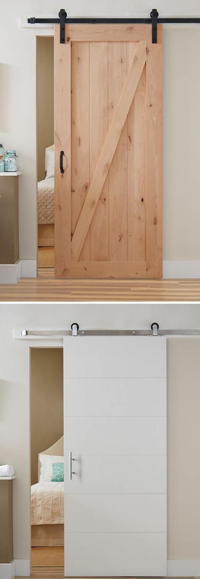 porte-de-grange-en-bois-porte-de-grange-blanche-intérieur-moderne