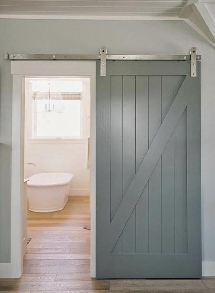 1001 id es pour int grer la porte de grange dans votre int rieur - Fabriquer une porte de grange ...