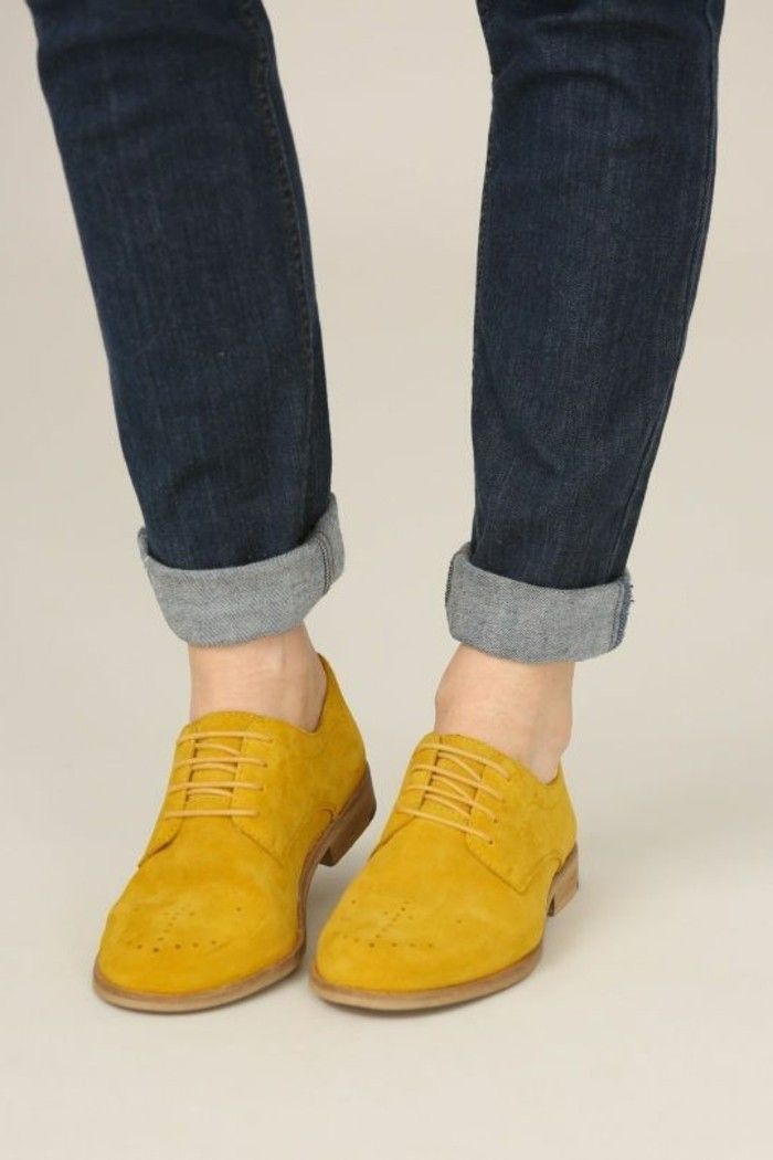 chaussure jaune moutarde femme,chaussure jaune brice nice