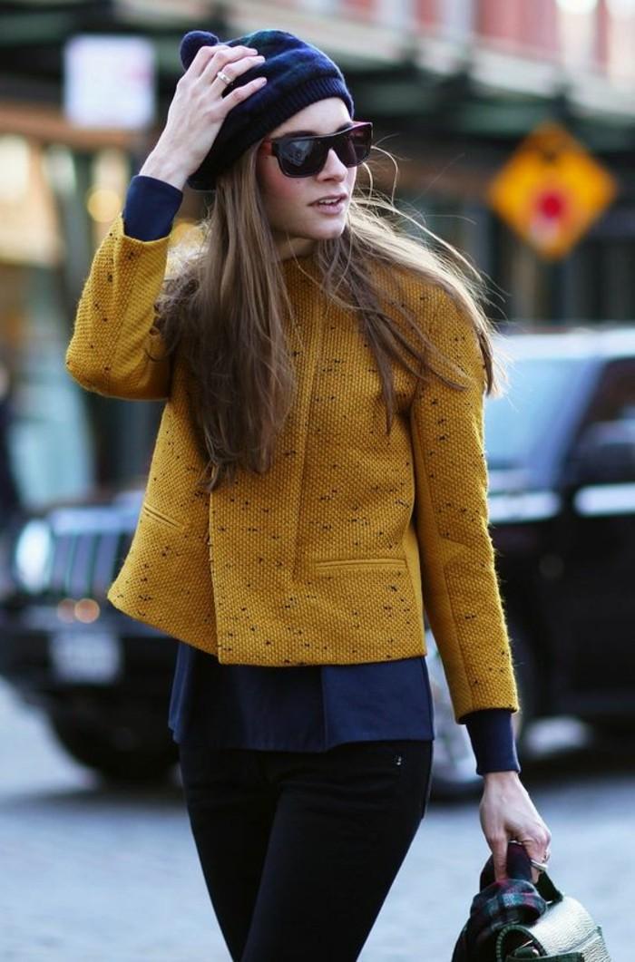 Quelle couleur avec une veste jaune