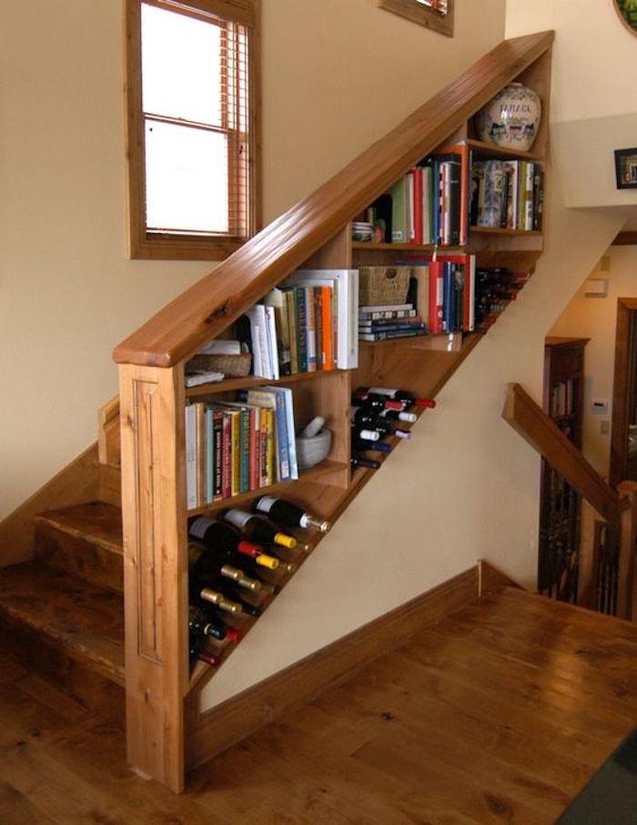 1001 id es biblioth que escalier des marches et des livres pour s 39 lever. Black Bedroom Furniture Sets. Home Design Ideas