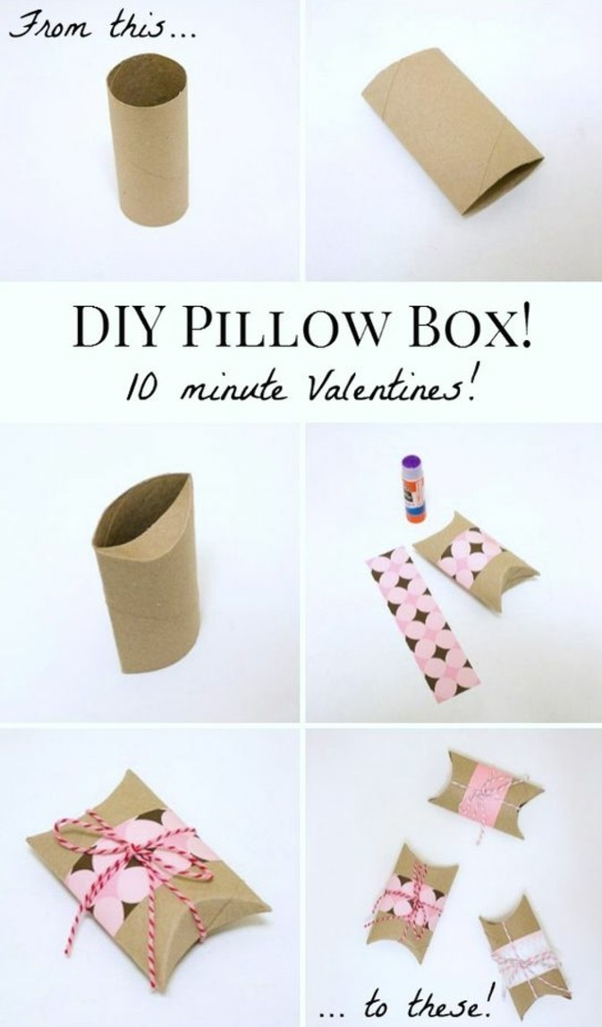 how to make a cute box out of paper