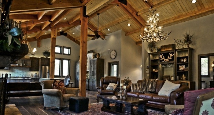 renover-grange-en-maison-atmosphere-moderne-en-couleurs-foncees-mobilier-en-cuir