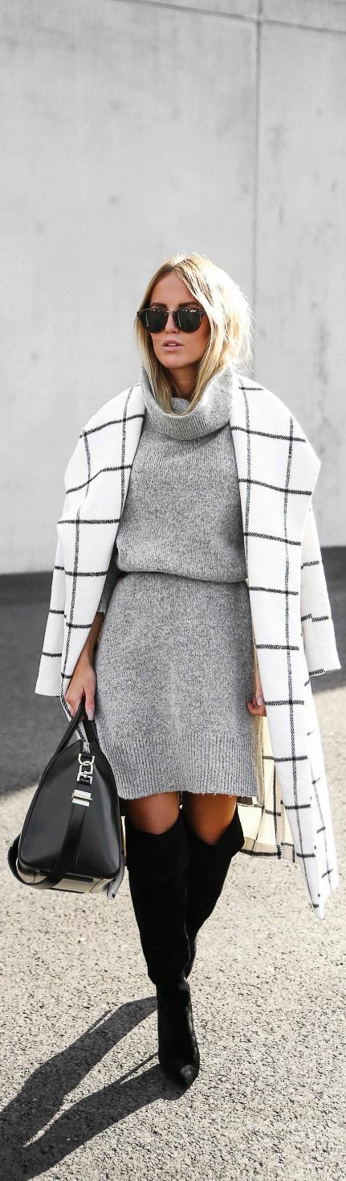 robe-en-laine-blanc-avec-manteau-classe