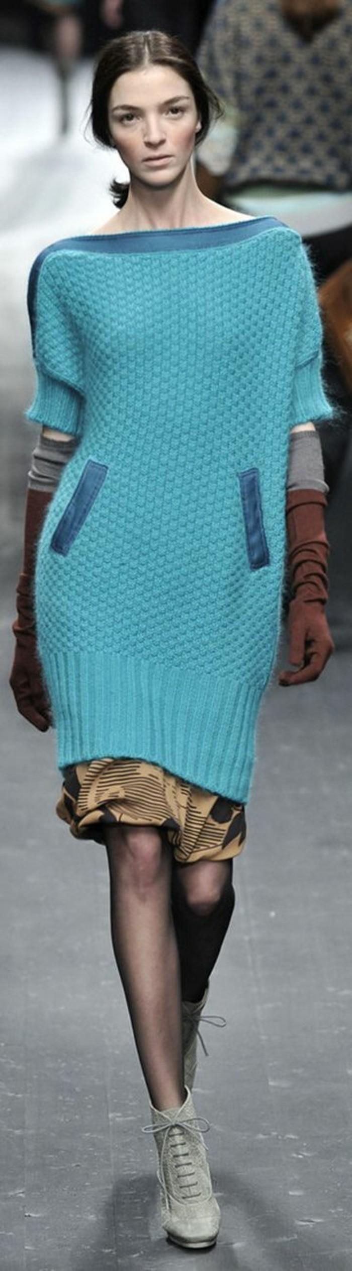robe-en-laine-bleu-ciel-Missoni-mini