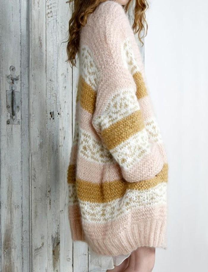 robe-en-laine-femme-aux-couleurs-pastel