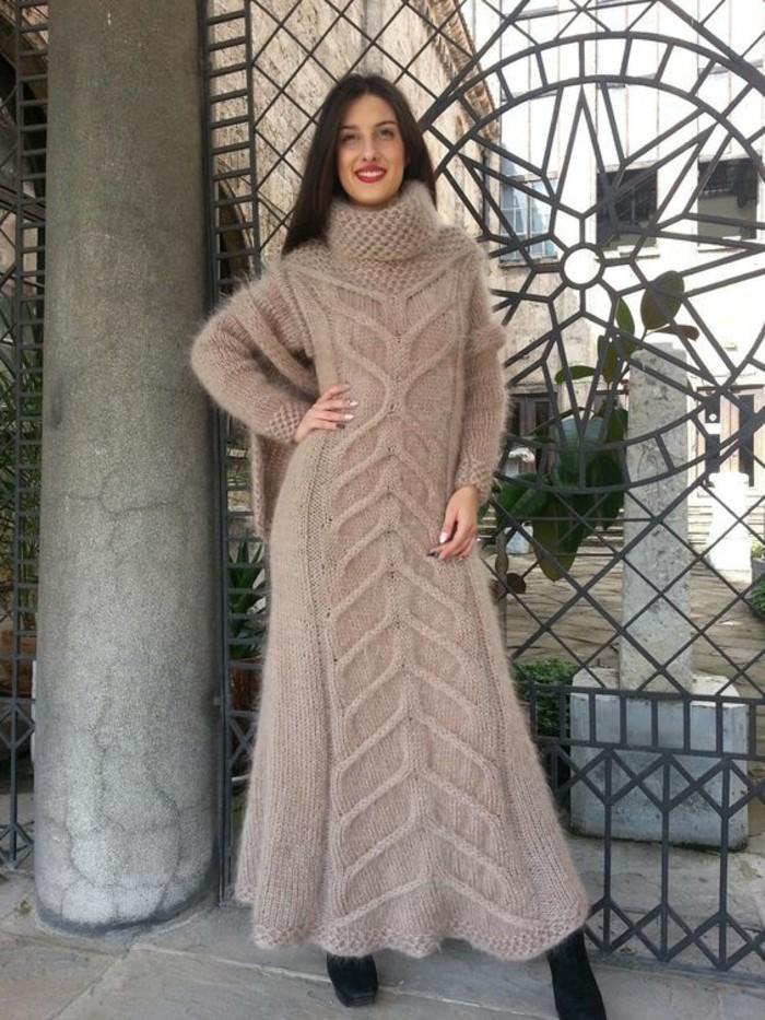 c30d39f8473 ▷ 1001+ Idées pour porter votre robe en laine + les looks hot tendance