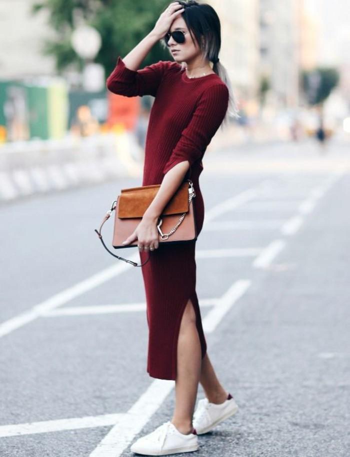 robe-en-laine-hiver-couleur-vermeil