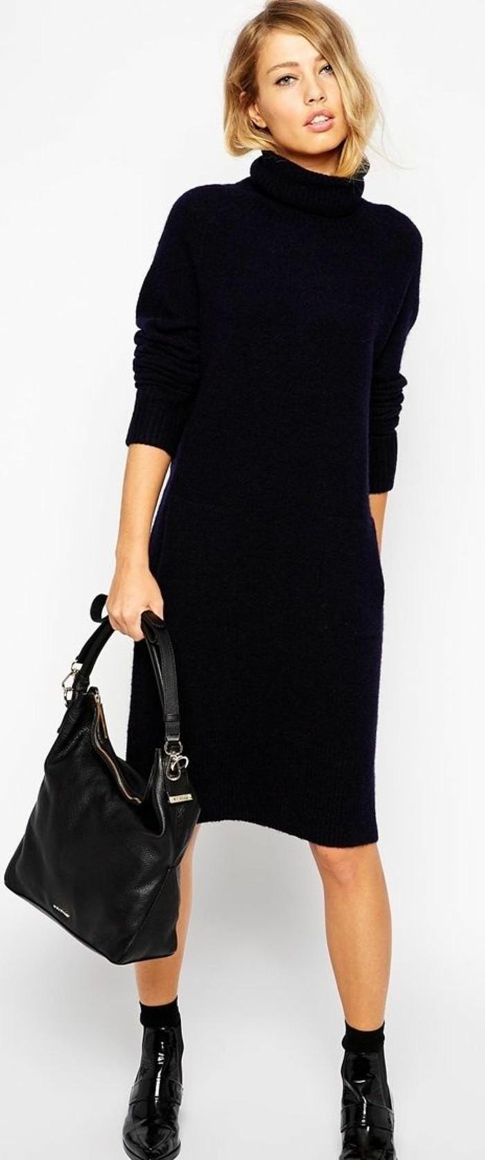 robe-en-laine-noire-total-look