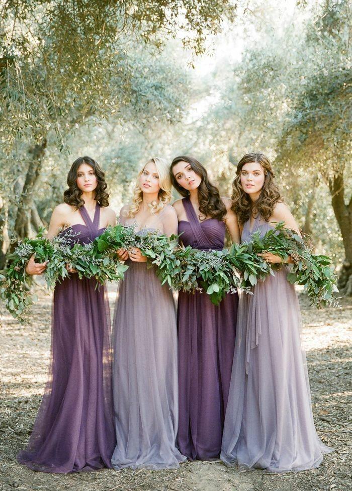 robe-invité-mariage-tenue-classe-femme-en-violet