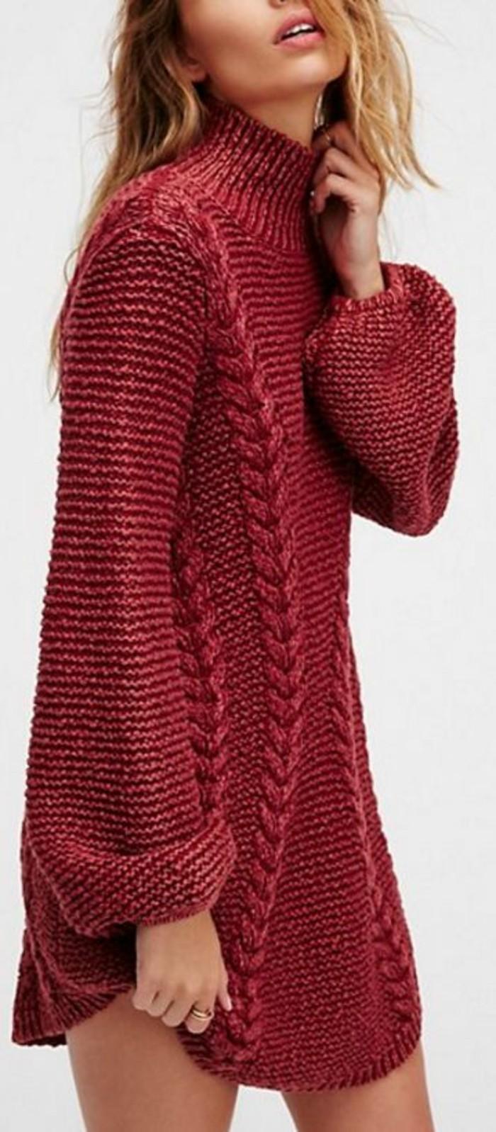 robe-laine-mini-en-couleur-corail