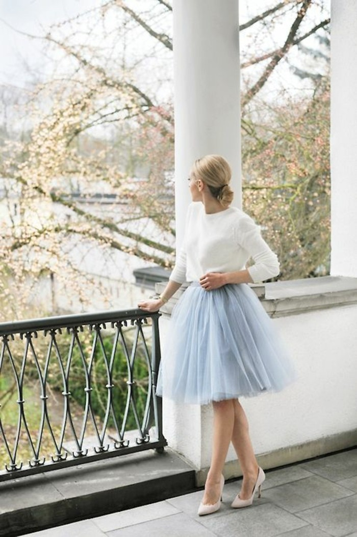 robe-mariage-invitée-robes-de-soirée-pour-mariage-cool-balerina-jupe