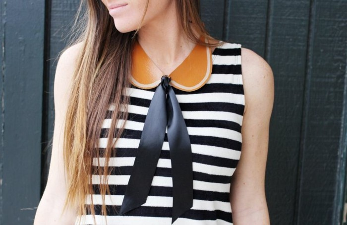 robe-marinière-col-claudine-amovible-avec-ruban