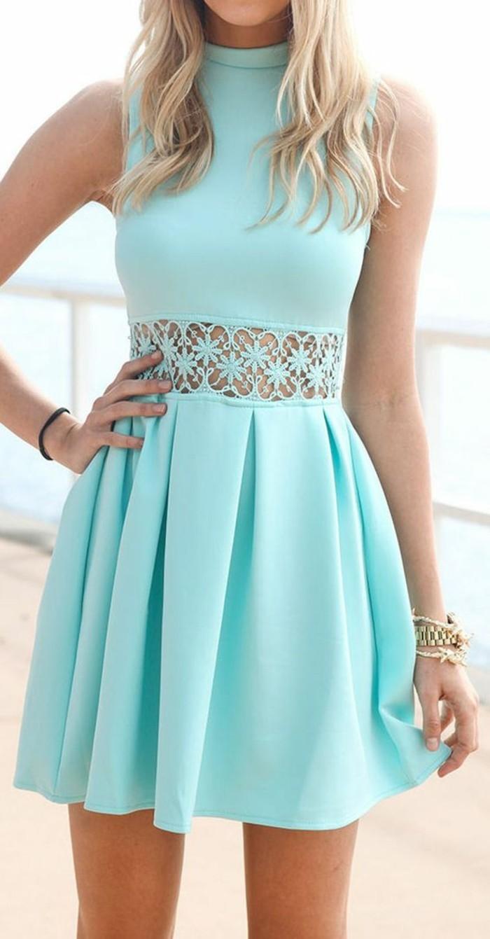 robe-pour-invité-mariage- robe-longue-de-soiree-bleu-robe-quotidien