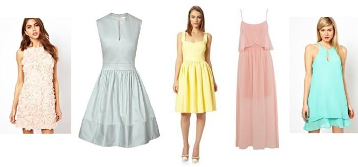 1001 id es pour la robe pastel pour mariage trouvez les meilleures. Black Bedroom Furniture Sets. Home Design Ideas