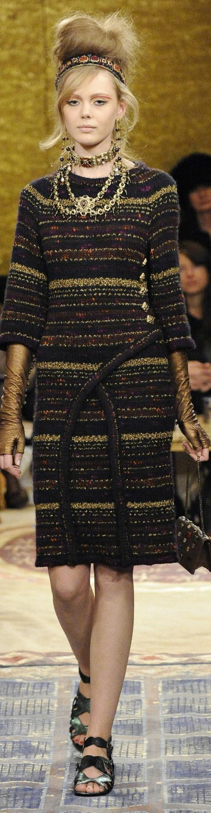 robes-en-laine-pour-femmes-colorée-longueur-mi-cheville