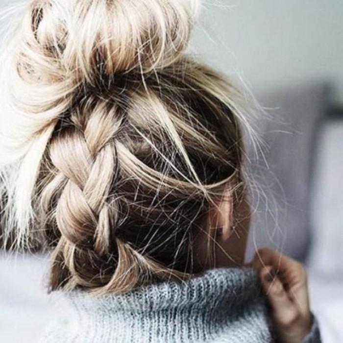 romantique-chignon-cheveux-mi-long-idee-comment-se-coiffer-tresse