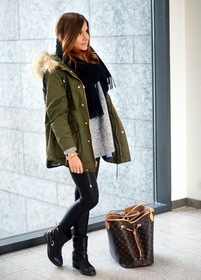 s-habiller-stylé-tenue-femme-hiver--look-chic-et-décontracté-femme
