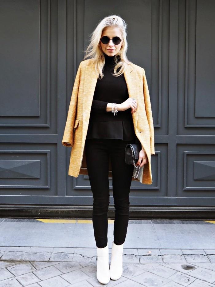 s-habiller-stylé-tenue-femme-hiver-pantalon-noir-hiver-tenues-chics-femme