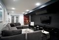 Le salon gris et noir – comment le décorer