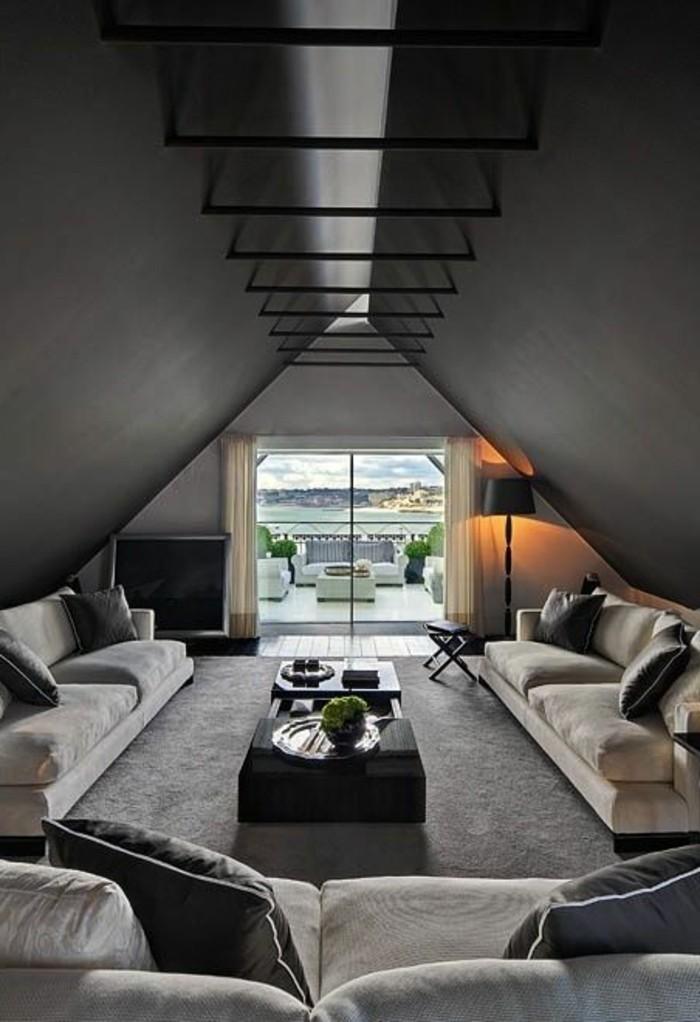 salon-moderne-gris-salle-de-séjour-originale-en-gris