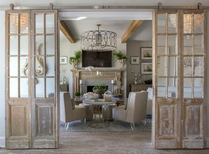 salon-style-shabi-chi-porte-coulissante-double-vitrée