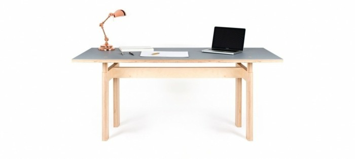table-lc-meuble-sur-mesure-butter-pas-cher-exemple-de-bureau-style-simple