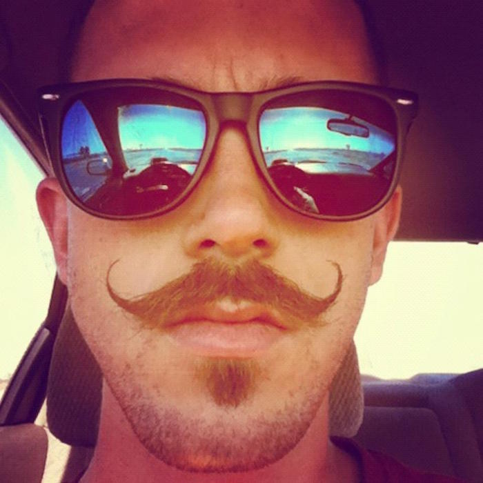 tailler sa moustache mode style hipster homme