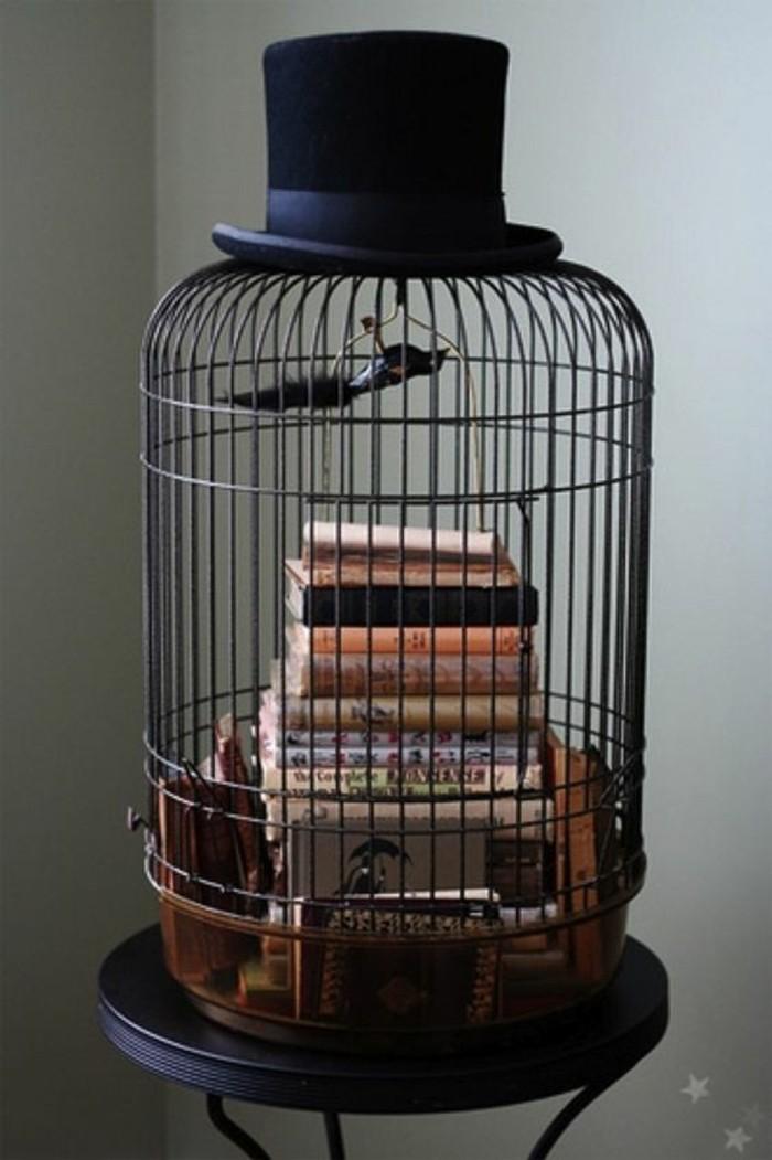 tendance-déco-récup-cage-à-oiseaux-transforméeen-objet-déco