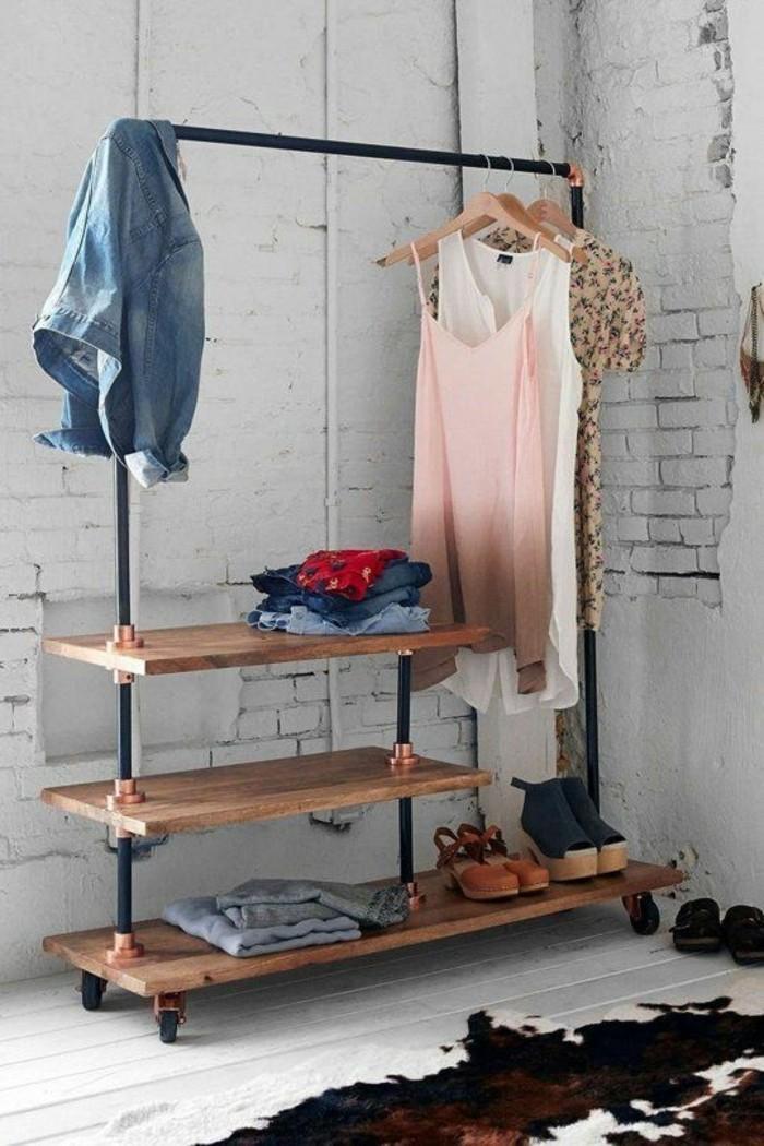 tendance-tuyaux-de-cuivre-dressing-récup-diy-déco-chambre-à-coucher
