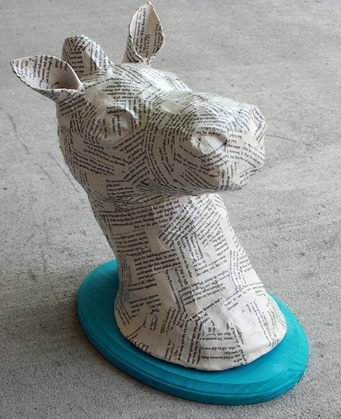 tete-d-animal-recouvert-de-papier-journal-idée-activité-créative-comment-faire-du-papier-maché-resized