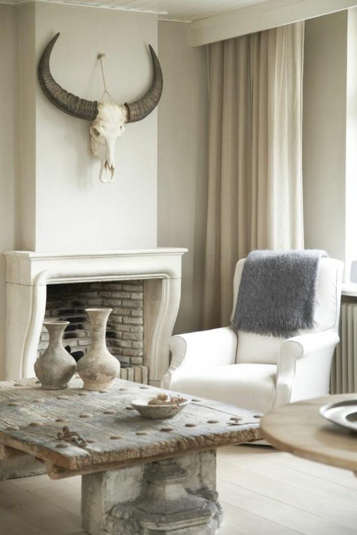 transformer-cheminee-rustique-en-moderne-hauteur-jusqu-au-plafond-tete-d-animal-decoration