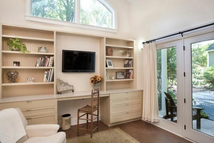 transformer-un-garage-en-chambre-bureau-de-travail-ou-coin-de-repos-etageres-en-bois