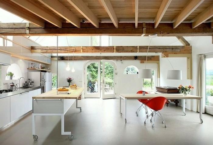 Transformer Un Hangar En Maison #6: Transformer-un-hangar-en-maison-ambiance-moderne-en-