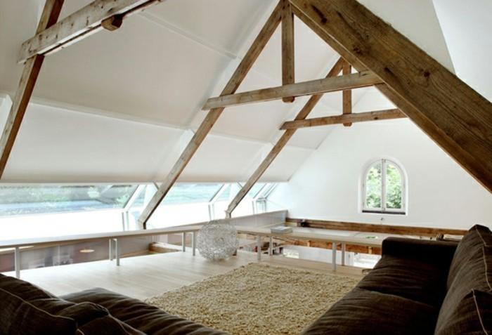 transformer-un-hangar-en-maison-plafond-avec-des-poutres-en-bois-canapes-doux-couleurs-foncees