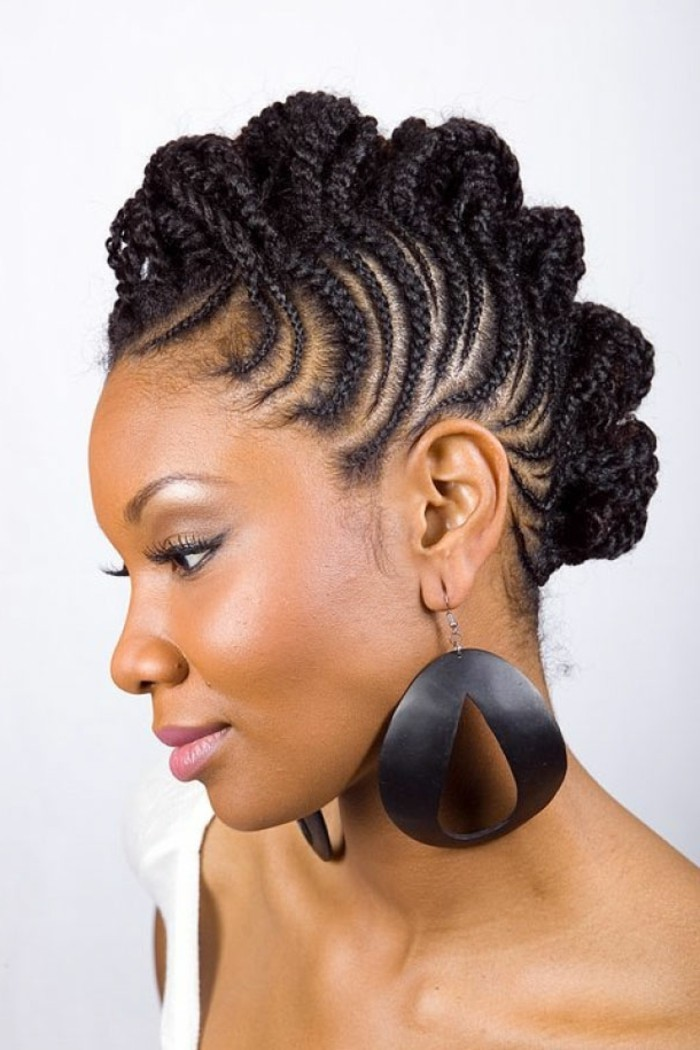 1001 coiffures modernes avec une tresse africaine. Black Bedroom Furniture Sets. Home Design Ideas