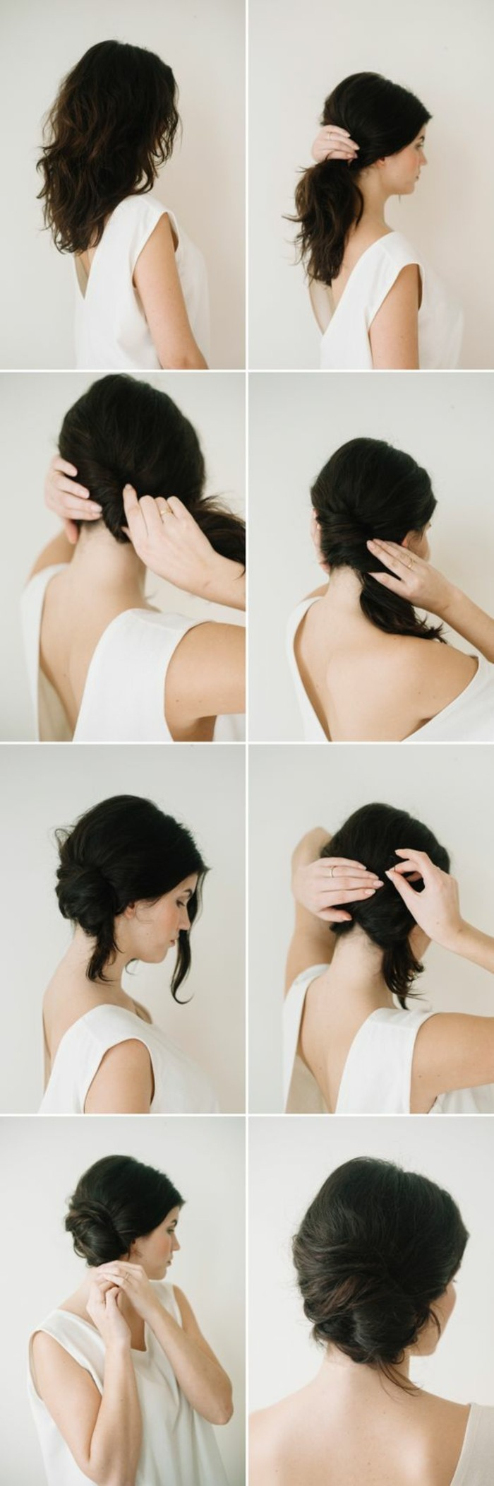 Comment faire un chignon flou fashion designs - Chignon moderne 2017 ...