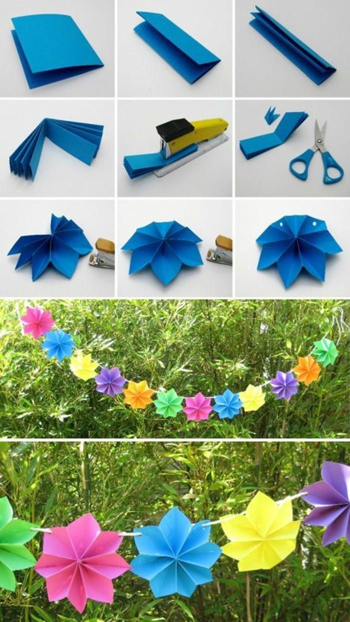 tutoriel-pour-fabriquer-une-guirlande-en-papier-composee-de-fleurs-en-papier-de-couleurs-differentes