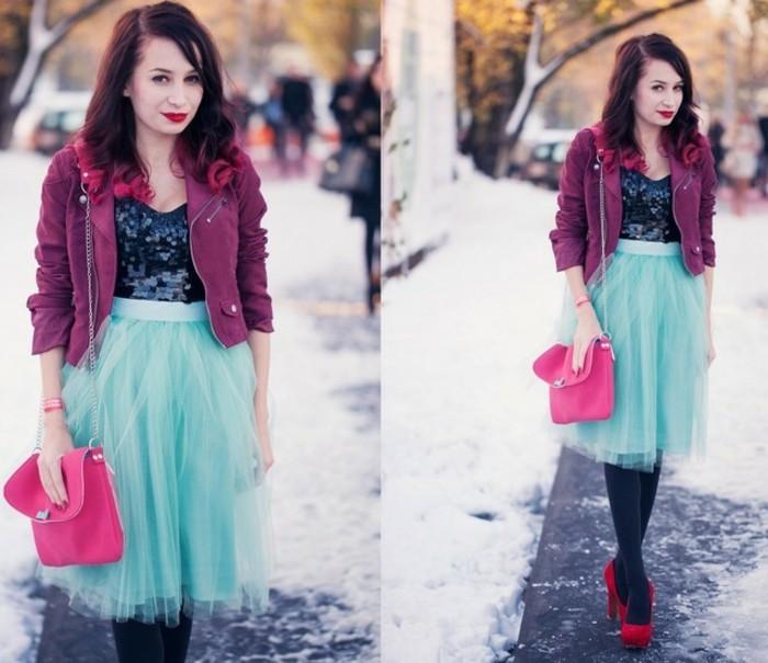 tutu-femme-tenue-dhiver-avec-une-jupe-en-tulle