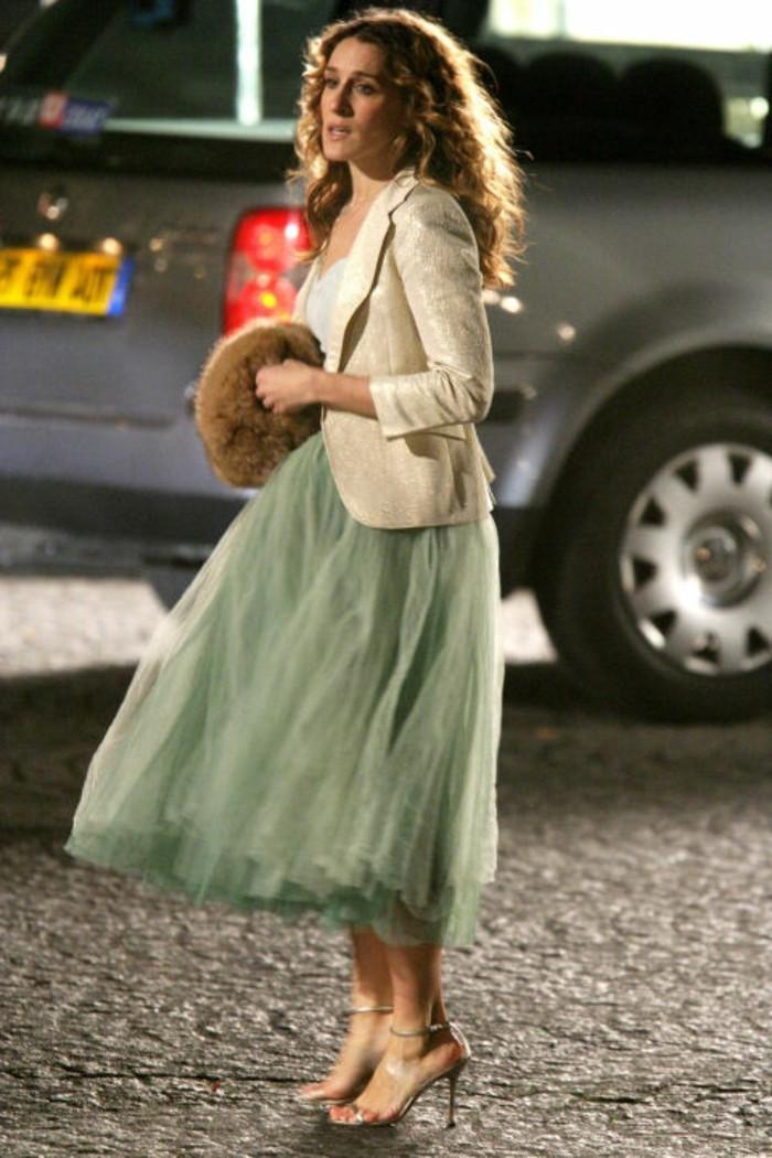 tutu-femme-vert-carrie-bradshaw-et-ses-tenues